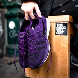 Nike Midnight Purple Flyknit Trainer Sneakers
